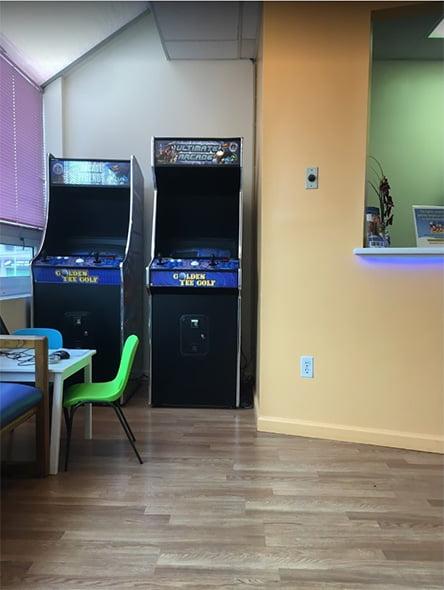 kids dental studio pediatric dentistry office area
